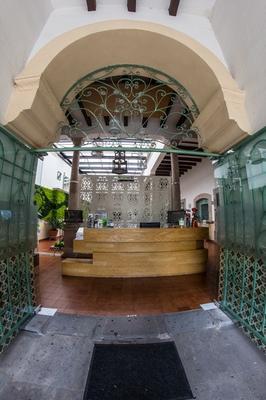 Casa Jose Maria Hotel - Morelia - Front desk