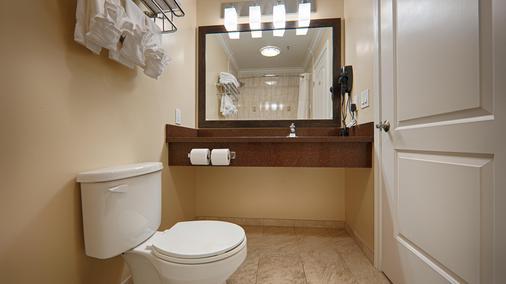 貝斯特韋斯特普拉斯機場廣場酒店 - 聖荷西 - 聖何塞 - 浴室