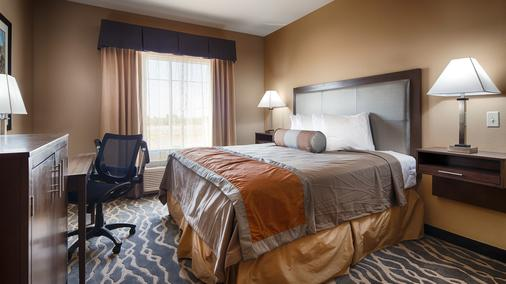 Best Western PLUS Fort Stockton Hotel - Fort Stockton - Schlafzimmer