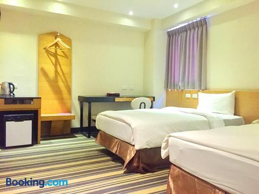 國園商務大飯店 - 嘉義市 - 臥室