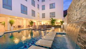 Del Mar Hotel - Santa Marta - Piscina