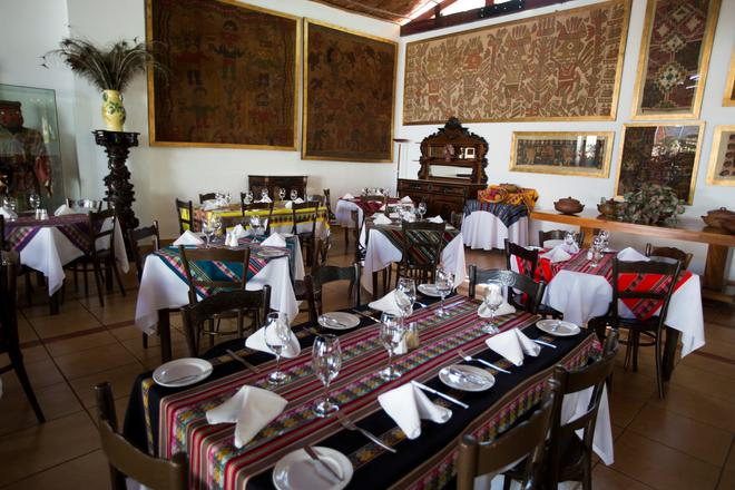 Hacienda Majoro 精品渡假村 - 納斯卡 - 納斯卡 - 餐廳