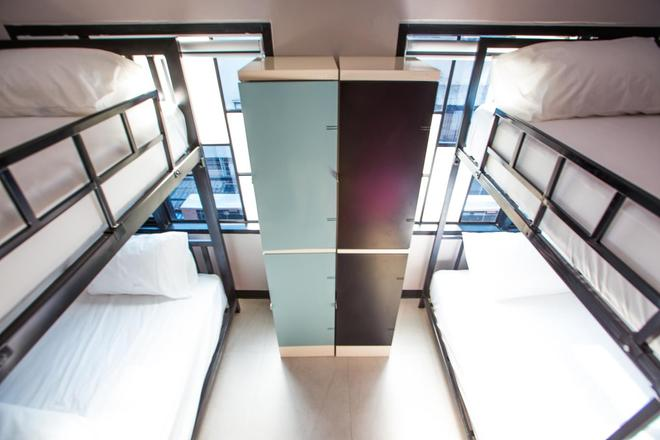 Jellybean The Blocks Hostel Sukhumvit 10 - Bangkok - Bedroom