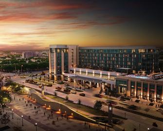 Texas A&M Hotel and Conference Center - Колледж Стейшн - Будівля