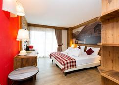 Green Rose B&b Ecohotel - Livigno - Habitación