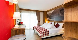 Green Rose B&b Ecohotel - Livigno - Bedroom