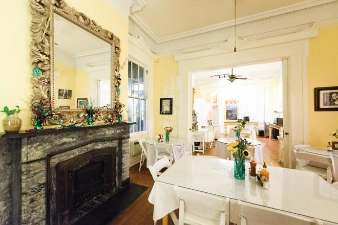 Creole Gardens Guesthouse & Inn - New Orleans - Ruokailuhuone