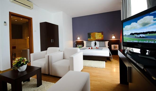 Unique Hotel - Bukarest - Schlafzimmer