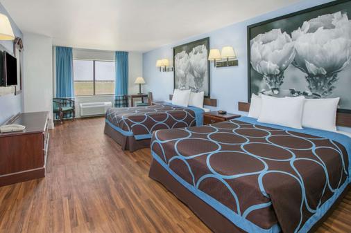 Super 8 by Wyndham Garland North Dallas Area - Garland - Schlafzimmer