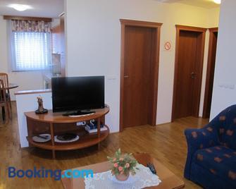 Apartment Sobe Ravbar - Rudolfswerth - Wohnzimmer