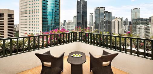 雅加達香格里拉大酒店 - 雅加達 - 雅加達 - 陽台