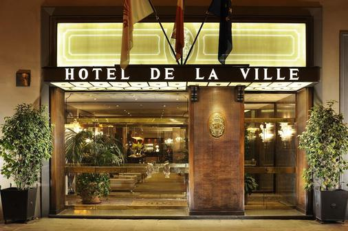 Hotel De La Ville - Firenze - Rakennus