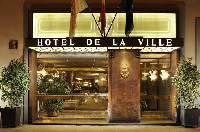 Hotel De La Ville - Florence - Building