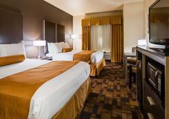 Best Western Windsor Pointe Hotel & Suites-AT&T Center - San Antonio - Schlafzimmer
