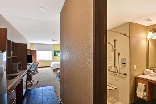 Home 2 Suites by Hilton Albuquerque/Downtown-University - Albuquerque - Bedroom