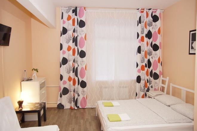 Mini-Hotel Spokoynoy Nochi Aviamotornaya - Moscow - Bedroom