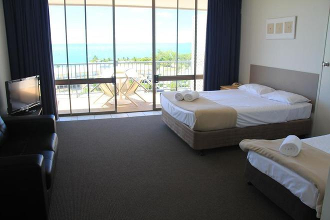 Whitsunday Terraces Hotel Airlie Beach - Airlie Beach - Bedroom