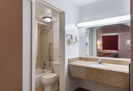Motel 6 San Antonio I-10 West - Σαν Αντόνιο - Μπάνιο