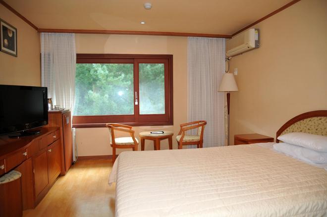 Suanbo Park Hotel - Chungju-Si - Bedroom