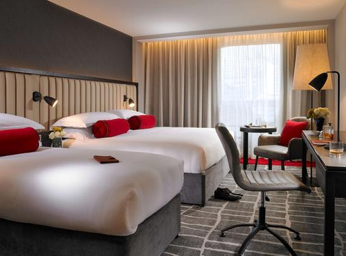 紅牛莫蘭酒店 - 都柏林 - 都柏林 - 臥室