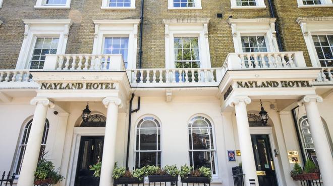 Nayland Hotel - Lontoo - Hotellin sisäänkäynti
