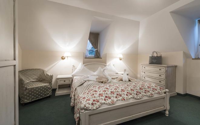 Villa Helvetia - Merano - Makuuhuone