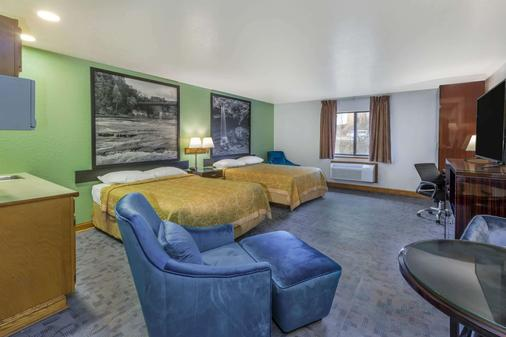 Super 8 by Wyndham Uniontown PA - Uniontown - Schlafzimmer