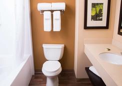 羅利研究園 54 號公路美國長住酒店 - 德罕 - 達拉姆 - 浴室
