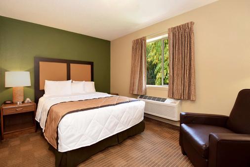 羅利研究園 54 號公路美國長住酒店 - 德罕 - 達拉姆 - 臥室