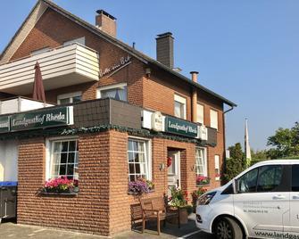 Landgasthof Rheda Hotel - Restaurant - Rheda-Wiedenbrück - Gebouw