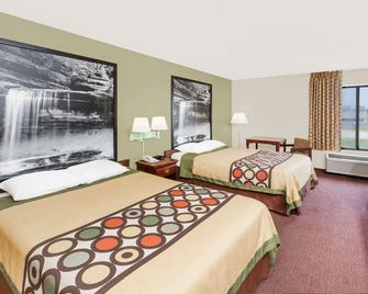 Super 8 by Wyndham Lincoln - Lincoln - Bedroom