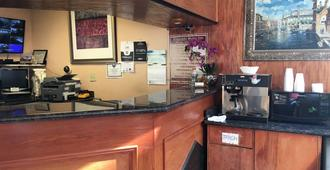 Eldorado Motor Inn - Atlantic City - Front desk