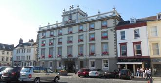 Cross Keys Hotel - Kelso - Edificio