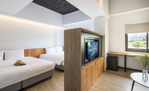 Traveller-Inn Tiehua Hotel - Taitung City - Phòng ngủ