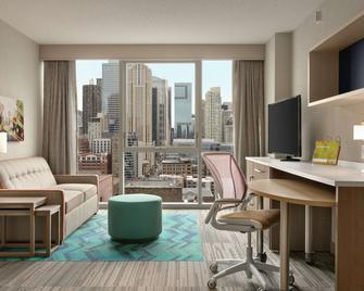 Home2 Suites by Hilton Chicago River North - Chicago - Living room