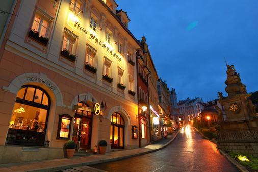 Promenáda Romantic Hotel - Carlsbad - Building