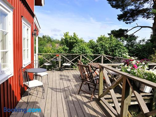 Stf Möja Vandrarhem - Möja - Balcony