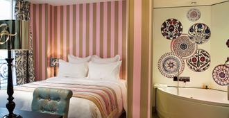 Hotel Le Bellechasse Saint Germain - Parigi - Camera da letto