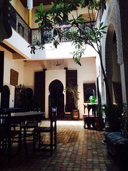 Riad Zahraa - Meknes - Patio