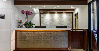 Flushing Central Hotel - Queens - Front desk