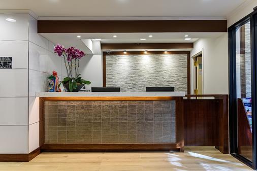 Flushing Central Hotel - Queens - Front desk