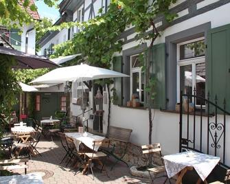 Weinhotel Oechsle&brix - Sommerhausen - Патіо