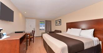 Americas Best Value Inn St. Clairsville Wheeling - Saint Clairsville - Bedroom