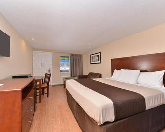 Americas Best Value Inn St. Clairsville Wheeling - Saint Clairsville - Schlafzimmer