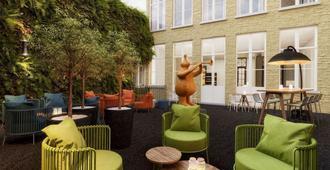 Hotel Sablon Bruges - Brugge - Patio