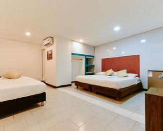Hotel Continental Sai - San Andrés - Slaapkamer