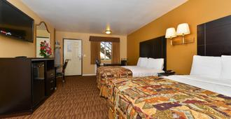Americas Best Value Inn Los Angeles at S Alvarado St - Los Angeles - Yatak Odası