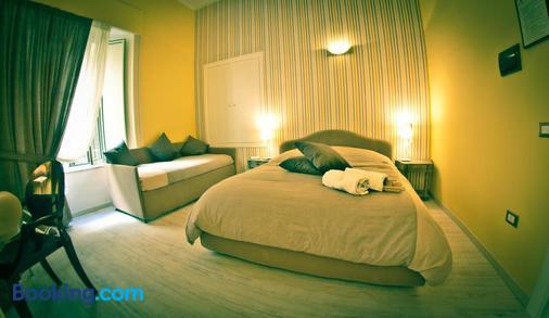 維斯康緹住宿加早餐酒店 - 那不勒斯/拿坡里 - 臥室