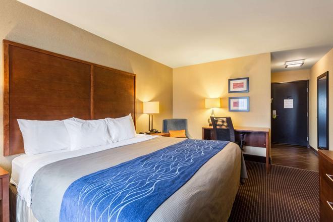 Comfort Inn - Tupelo - Makuuhuone