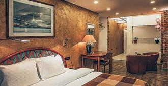 速 8 酒店 - 斯科普里 - 斯科皮普里 - 臥室